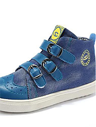 Little Lear® 2014 New Pattern Leisure Time Children Gao Bang Canvas Shoes
