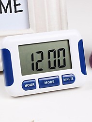 Plastic Multi-Function Electronic Timer in The Kitchen 8x5.6x2.2cm