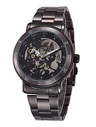 SHENHUA Herren aushöhlen Mechanische Uhr
