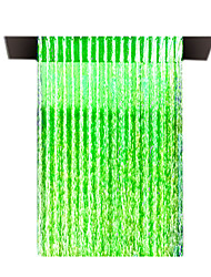 20 inch Stainless Steel Embedded Rain Shower Head With Color Changing LED Light