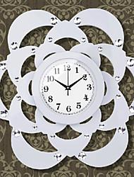 """22 """"moderno orologio da parete di design floreale"""
