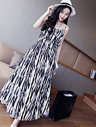 Women's Condole Belt Long Dress