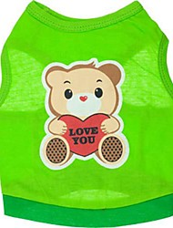 Lovely Little Bear Vest for Pets Dogs(Assorted Size)