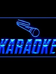 Karaoke Box Cafe Advertising LED Light Sign