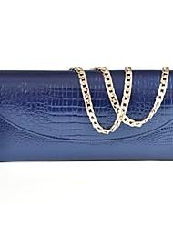 Women 's Embragues bolso de noche de la alta calidad de cuero de la manera de Ladie