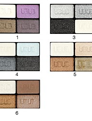 4 Color Eye Shadow Palette by UBUB