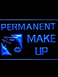 PERMANENT MAKE UP Advertising LED Light Sign