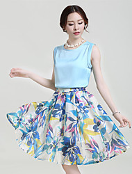 Women's Dresses , Chiffon Casual LX