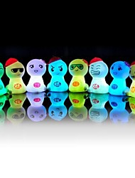 regalo creativo sueño comodo luz de noche colorida luz LED (color al azar)