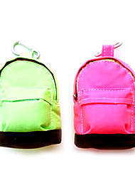 "4.8""x3.6""Schoolbag Shaped Storage Bag Coin Purse"