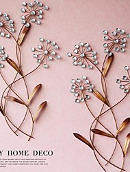 Metal Wall Art Wall Decor The Flower Of The Crystal Wall Decor Set Of 2