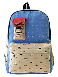 Women's Canvas Leisure Backpack