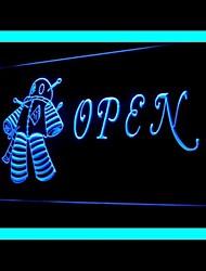 Voodoo Doll Open Advertising LED Light Sign