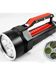 LED Flashlights/Torch / Lanterns & Tent Lights / HID Flashlights/Torch / Diving Flashlights/Torch Mode 8000 Lumens LumensAdjustable Focus