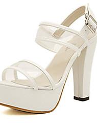 IPIEN High Heel Fashion Sandal (White)