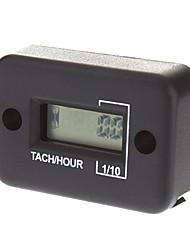 Wasserdichte LCD-Display Drehzahlmesser Betriebsstundenzähler für 2-Takt-Motorrad-Motor