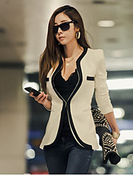 Women's Blazers & Sport Coats , Polyester Casual/Cute/Work BALLI