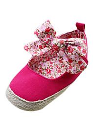 Vêtements Femme Appartements chaussures de fille papillon noeud Infant Toddler Prewalker premier marcheur de bébé Sapatos