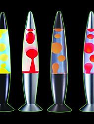 Moderne Missile Form Metall Lava-Lampe