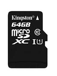 Kingston 64GB Class 10 SDHC-Speicherkarte microSDXC UHS-1