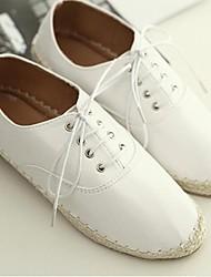 Женские плоский каблук круглый носок ботинок квартир