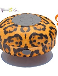 Leopard BST-06 portátil à prova d'água do chuveiro Stereo Bluetooth Wireless Mini Speaker com microfone