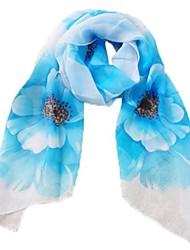 (flor) romântico lenço das mulheres