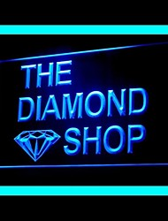 Diamond Jewellery Shop Advertising LED Light Sign
