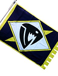 Fairy Tail Saber Tooth Flag cosplay accesorios