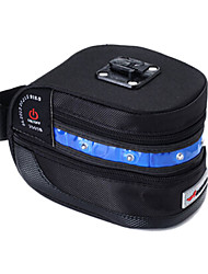 ACACIA 600D Extensible Bike Saddle Bag with Blue Warning Taillight