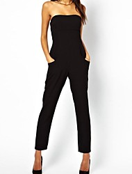 Vogue Tube Femmes Top Black Jumpsuit