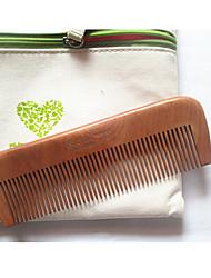 17cm de madeira Comb cabelo