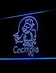 publicidade cocktails papagaio levou sinal de luz
