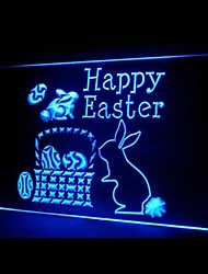 С праздником Пасхи Реклама светодиодные Вход