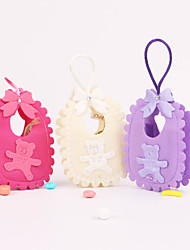 Baby Shower Bear Pattern Favor Bags - Set of 12 (More Colors)