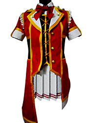 Inspired by Love Live Kotori Minami Anime Cosplay Costumes Cosplay Suits Patchwork Red Short Sleeve Top / Skirt