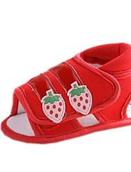Cotton Mädchen Flache Heel Slingback Sandaletten mit Magic Tape Schuhe