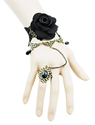 Coolshine Wedding Rose Bracelet With Rings-2014-201-LSL054