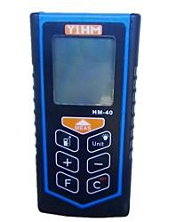 YiHM Ручной лазерный дальномер Максимальная дальность идет о 0,05-40M Точность измерения составляет ± 1,5 мм