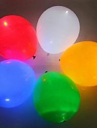 5pcs pacchetto ha condotto la lampada palloncino per la decorazione della stanza bar o regalo (colori casuali)
