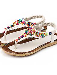 Aivini Women's Comfortable Little Flower Flat Sandals