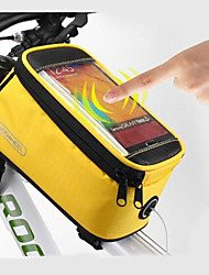 ROSWHEEL 4.2 Inch Cycling Polyester Waterproof Bike Tube Touch Screen Mobile Phone Bag