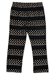 apertados polka dots globais da menina leggings adoráveis crianças pontos de algodão leggings de impressão aleatória