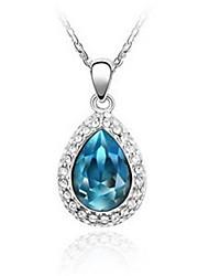 Diamonade collar de cristal de las mujeres encantadoras Mengguang