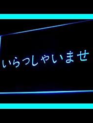 Bem-vindo Snooker Publicidade LED Sign
