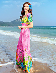 BIOPLA Bohemia vestido para la playa