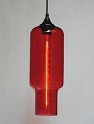 moderno pingente de vidro em design bolha branco