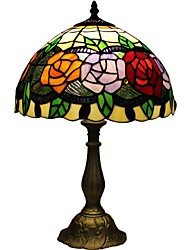 Tiffany rose bedroom bedside lamp D12067T