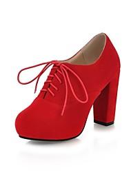 damesschoenen ronde neus dikke hak enkellaarsjes meer kleuren availableble