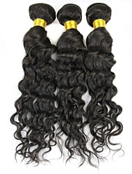Mix 16&18&20 Inch/Lot Great 5A Peruvian Human Hair Water Wave Hair Extension/Weave